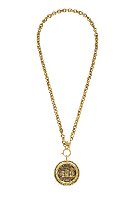 Gold Rue Cambon Necklace, , large image number 0