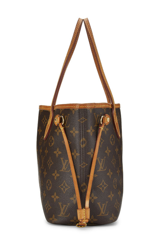 Pink Monogram Canvas Neverfull PM NM, , large image number 2