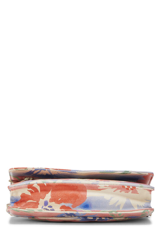 Multicolor Floral Quilted Lambskin Wallet on Chain (WOC), , large image number 4