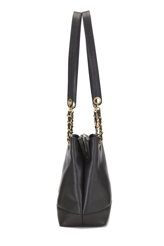 Black Caviar 'CC' Tote Small, , large image number 2