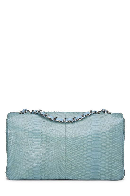 Blue Python Classic Flap Jumbo, , large image number 3