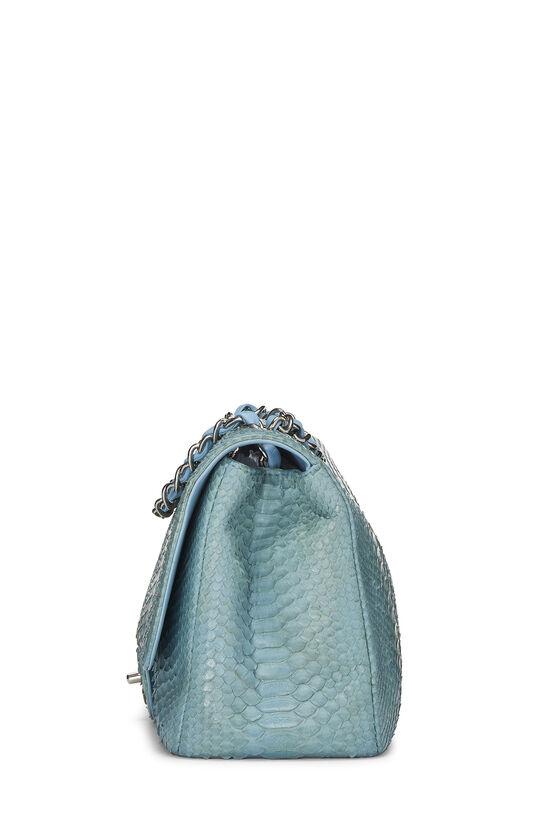 Blue Python Classic Flap Jumbo, , large image number 2