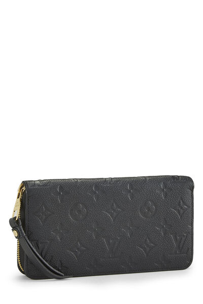 Black Empreinte Zippy Wallet, , large