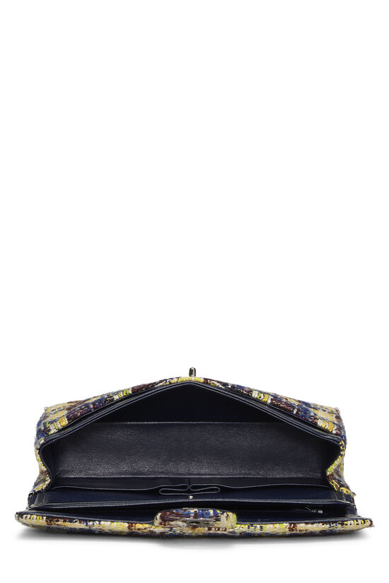 Multicolor Tweed Classic Double Flap Medium, , large image number 5