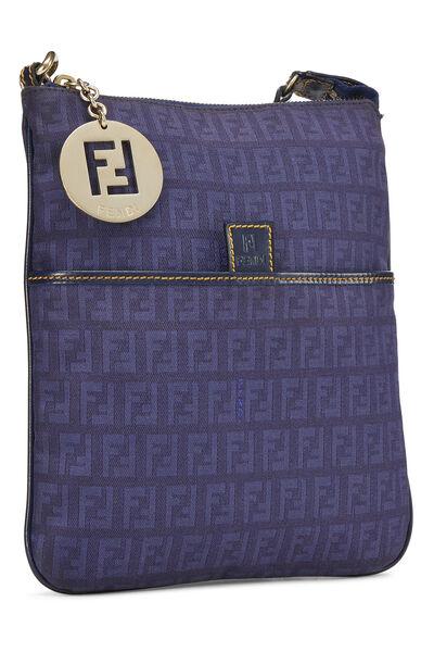 Blue Zucchino Canvas Crossbody Bag, , large