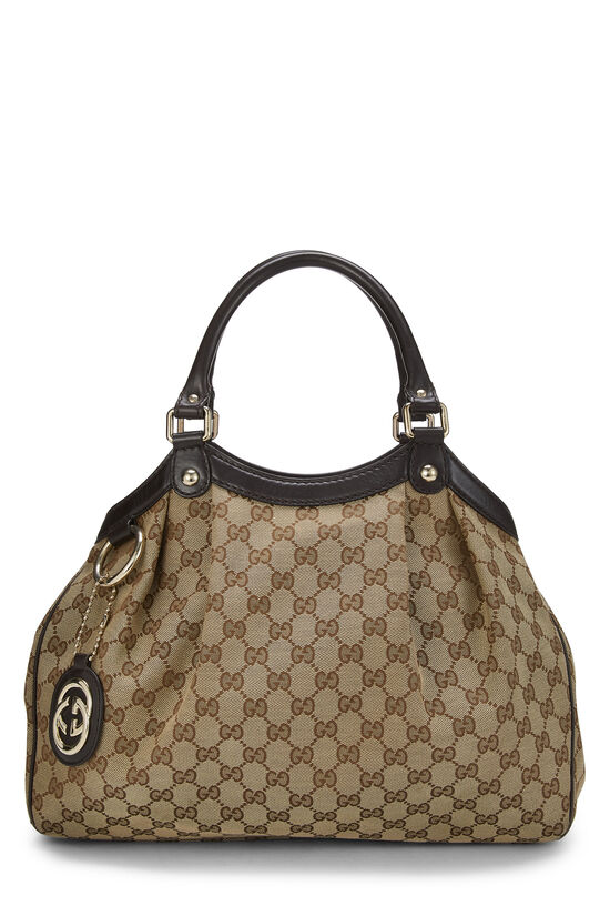 Original GG Canvas Sukey Tote, , large image number 0