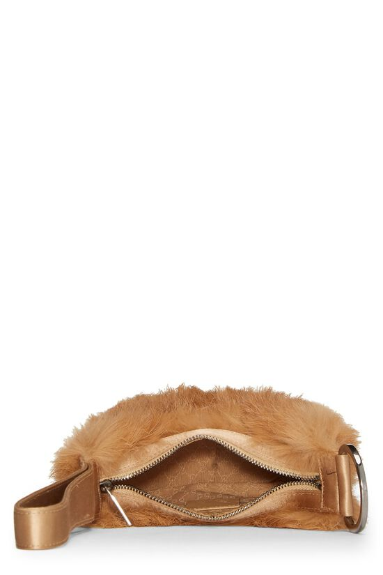 Brown Fur Wristlet, , large image number 5