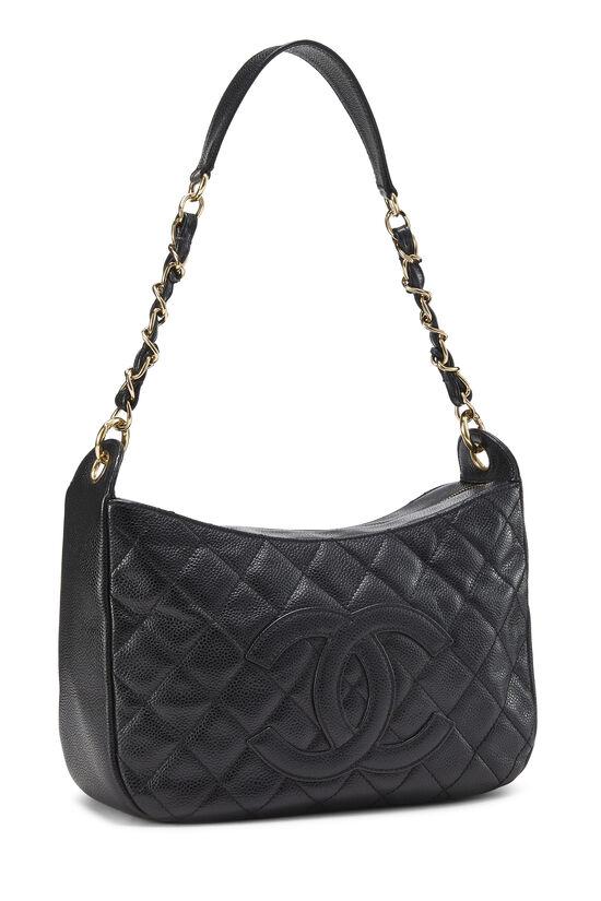 Black Caviar Timeless 'CC' Shoulder Bag, , large image number 1