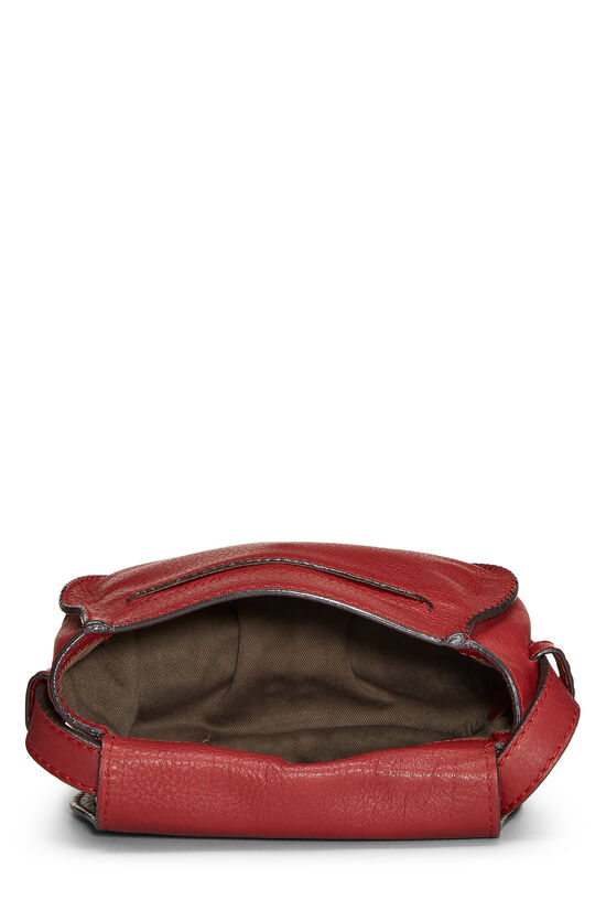 Red Leather Marcie Crossbody Mini, , large image number 5