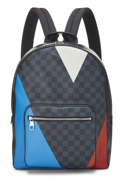 Damier Cobalt LV Cup Regatta Josh Backpack