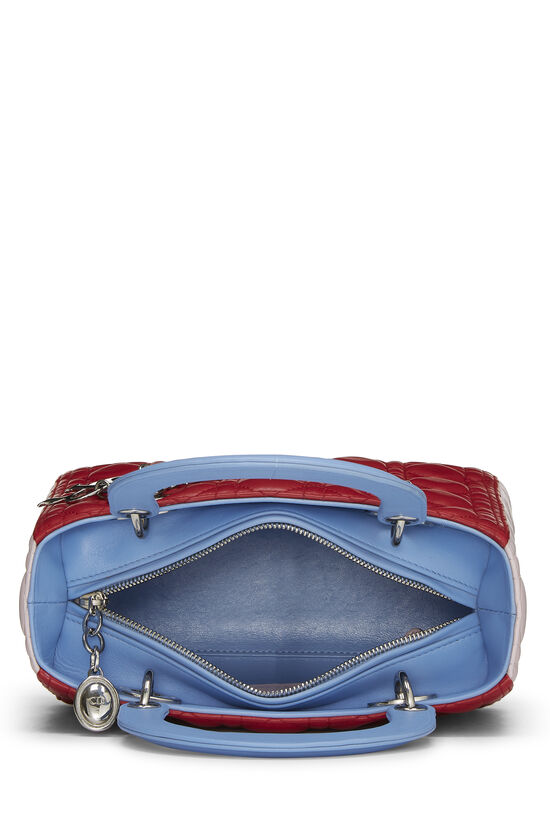 Multicolor Cannage Quilted Lambskin Lady Dior Medium, , large image number 5