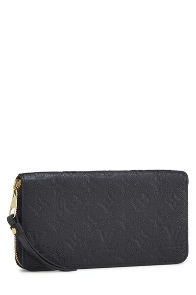 Black Monogram Empreinte Zippy Continental Wallet, , large