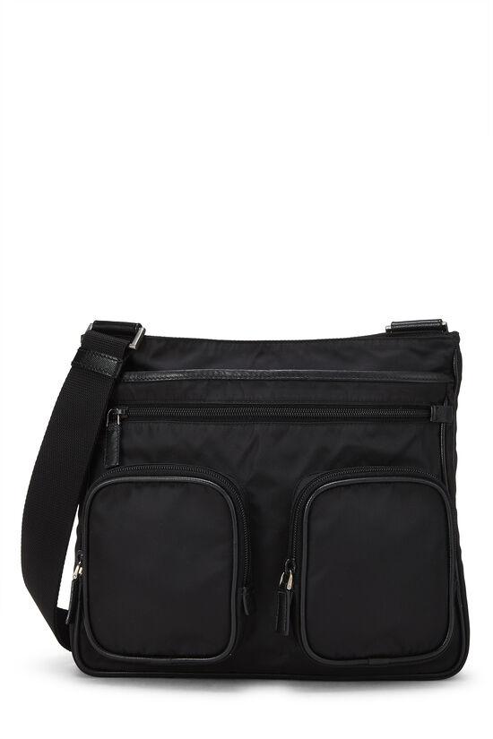Black Tessuto Messenger Bag, , large image number 0