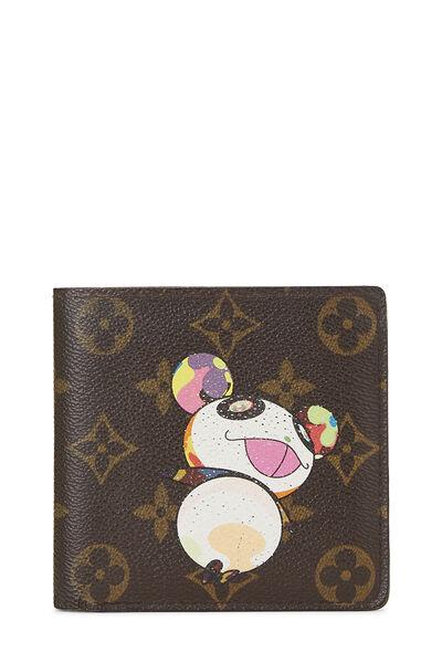 Takashi Murakami x Louis Vuitton Monogram Canvas Panda Marco Wallet