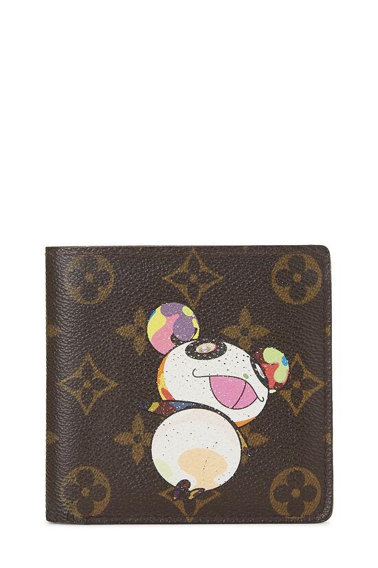 Takashi Murakami x Louis Vuitton Monogram Canvas Panda Marco Wallet, , large image number 0