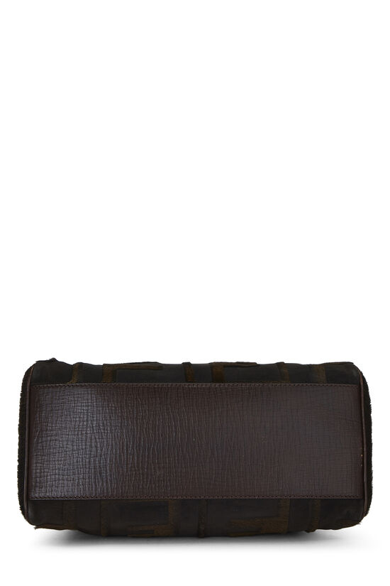 Brown Zucca Pony Hair Bag Du Jour Small, , large image number 4