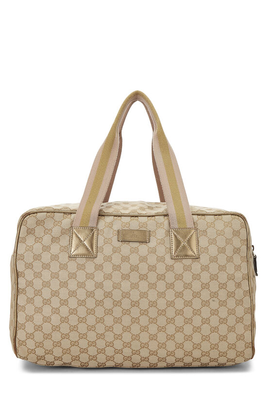 Original GG Canvas Carry On Duffle Large, , large image number 0