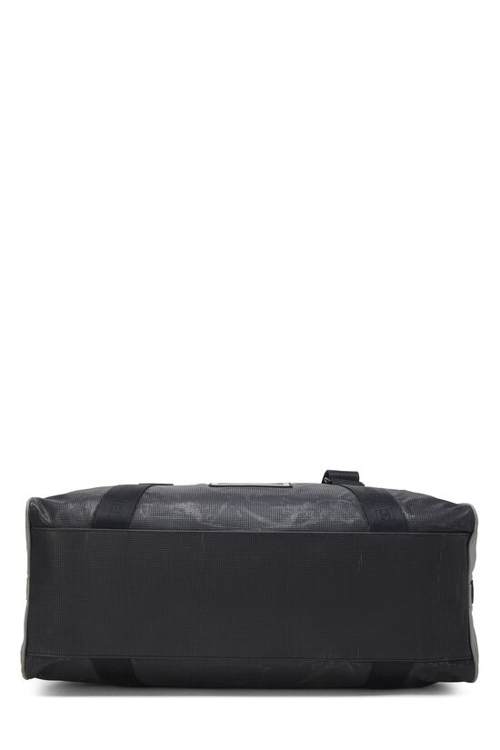 Black & Grey Nylon Sportline Duffle, , large image number 4