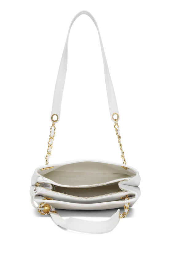 White Caviar Zip Tote, , large image number 5