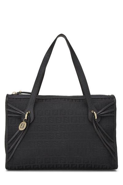 Black Zucchino Canvas Handbag Small