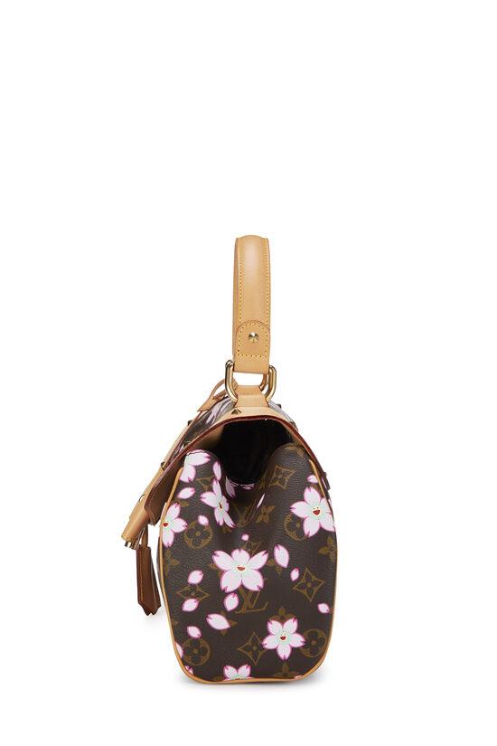 Takashi Murakami x Louis Vuitton Monogram Cherry Blossom Sac Retro PM, , large image number 2