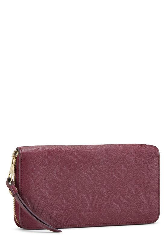 Aurore Empreinte Zippy Continental Wallet, , large image number 1