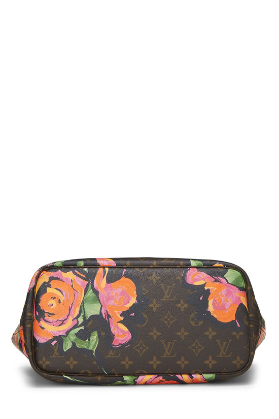 Stephen Sprouse x Louis Vuitton Monogram Canvas Roses Neverfull MM, , large image number 4
