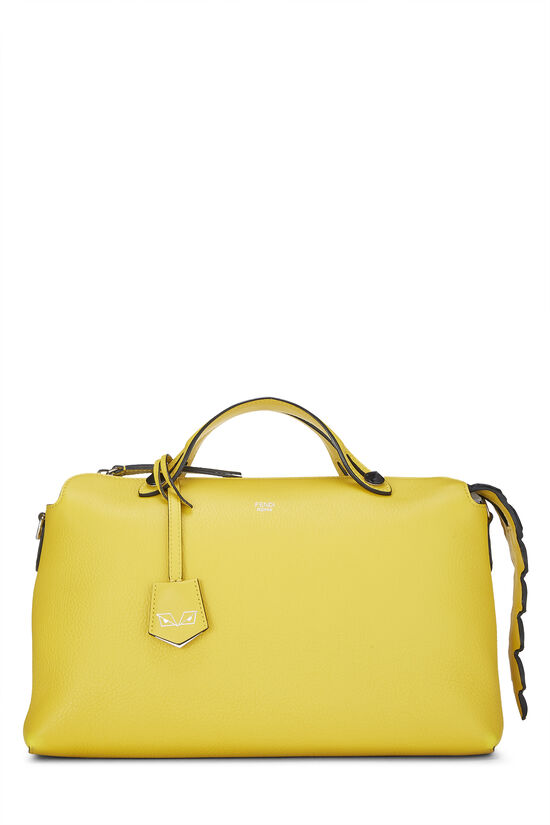 Yellow Leather By The Way Medium, , large image number 0