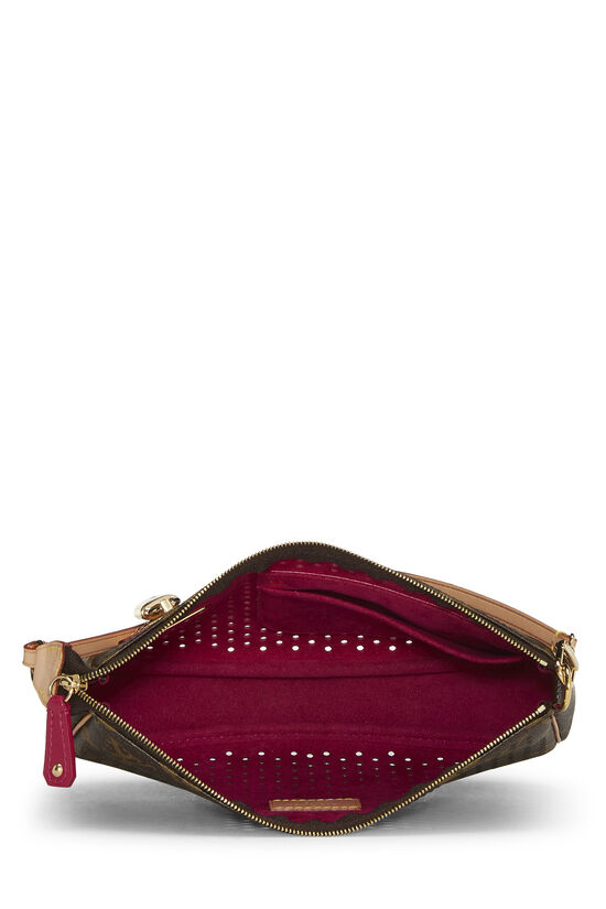 Limited Edition Pink Monogram Perforated Pochette Accessoires, , large image number 5