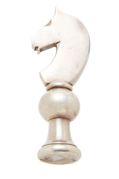 Silver Horse Bottle Opener