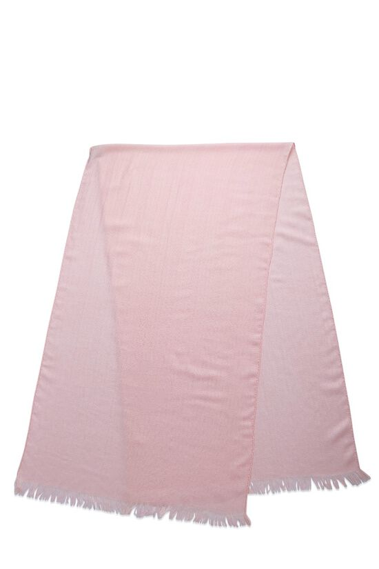 Pink Cashmere & Silk Stole, , large image number 0