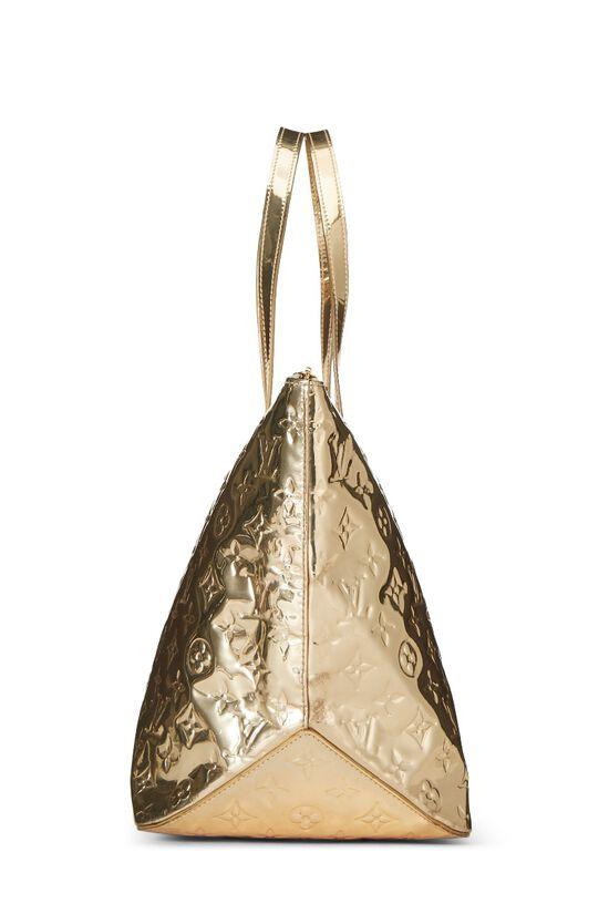 Gold Monogram Miroir Bellevue GM, , large image number 2