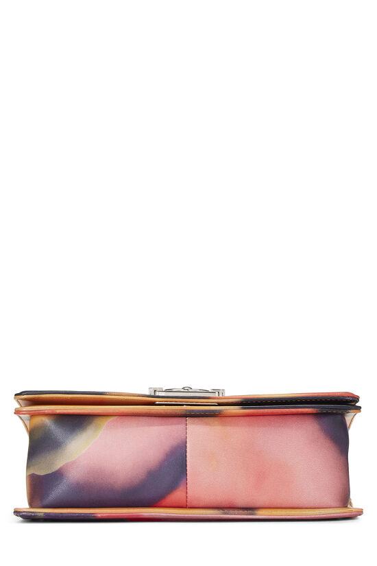 Multicolor Quilted Lambskin Flower Power Boy Bag Medium, , large image number 5