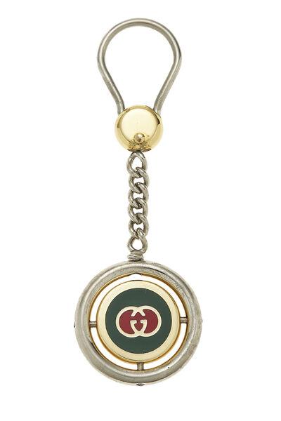 Silver Web Logo Keychain