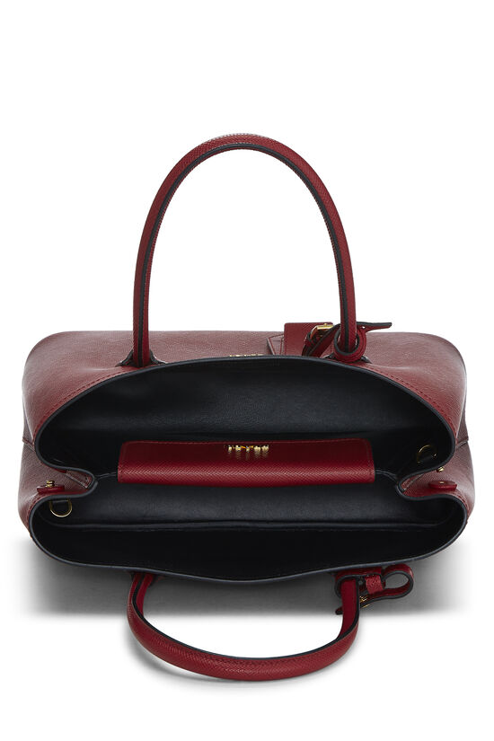 Red Saffiano Double Bag Small, , large image number 5