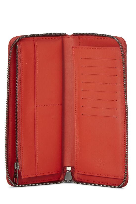 Red Damier Infini Zippy Vertical, , large image number 3
