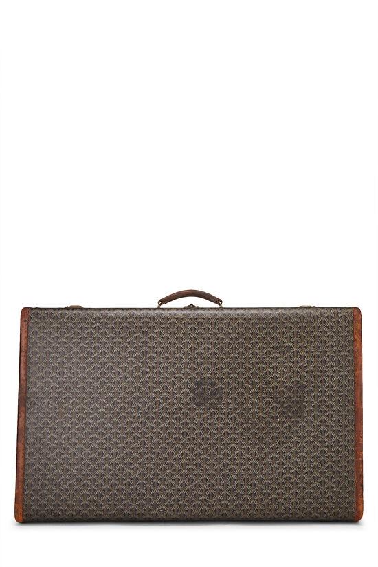 Black Goyardine Coated Canvas Suitcase, , large image number 0