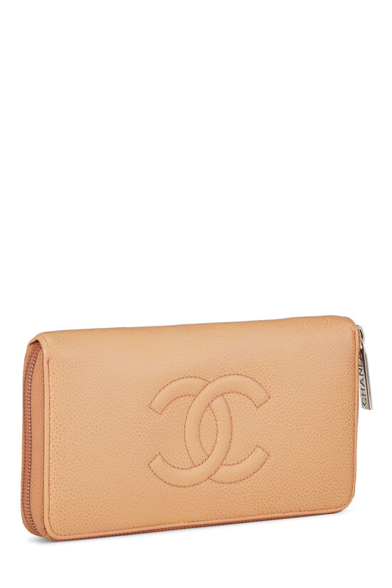 Peach Caviar Zippy Wallet, , large image number 1