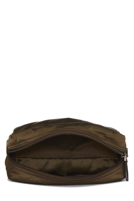 Brown Nylon Pouch, , large image number 3