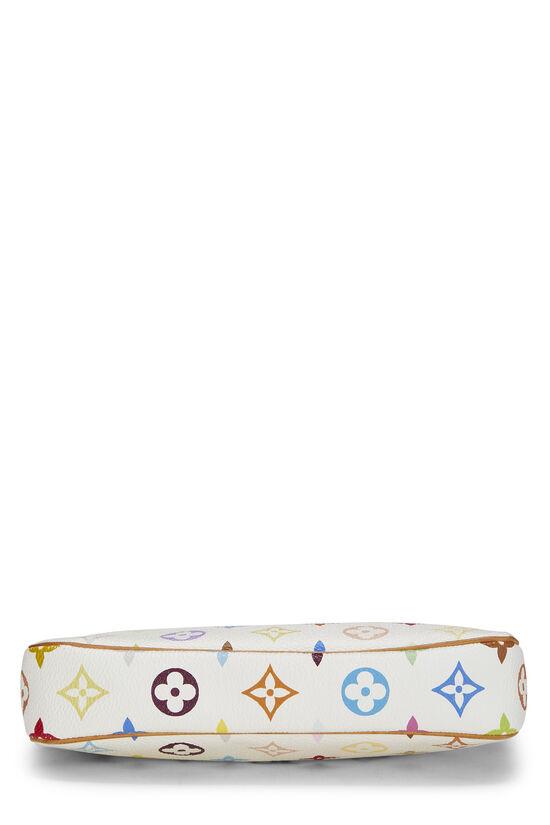 Takashi Murakami x Louis Vuitton White Monogram Multicolore Pochette Accessoires, , large image number 4