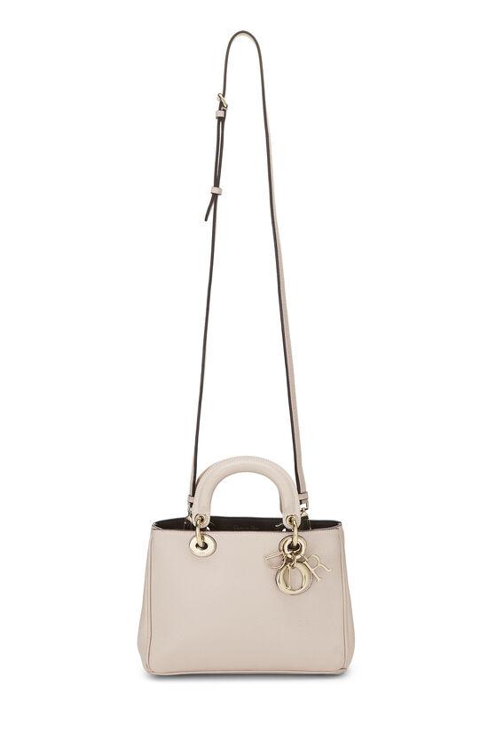 Pink Calfskin Diorissimo Handbag Mini, , large image number 6