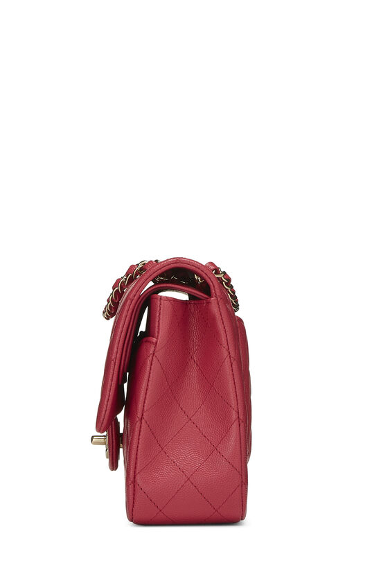 Pink Quilted Caviar Classic Double Flap Medium, , large image number 2