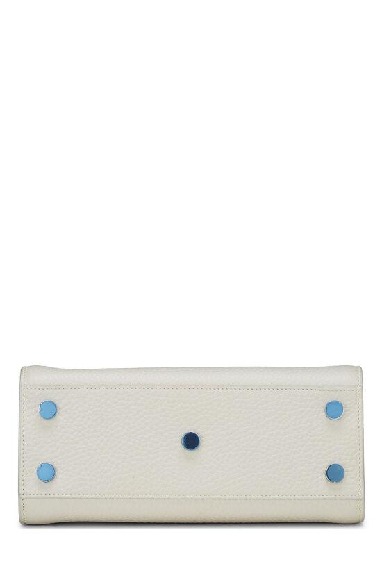 White Calfskin Sac de Jour Nano, , large image number 5