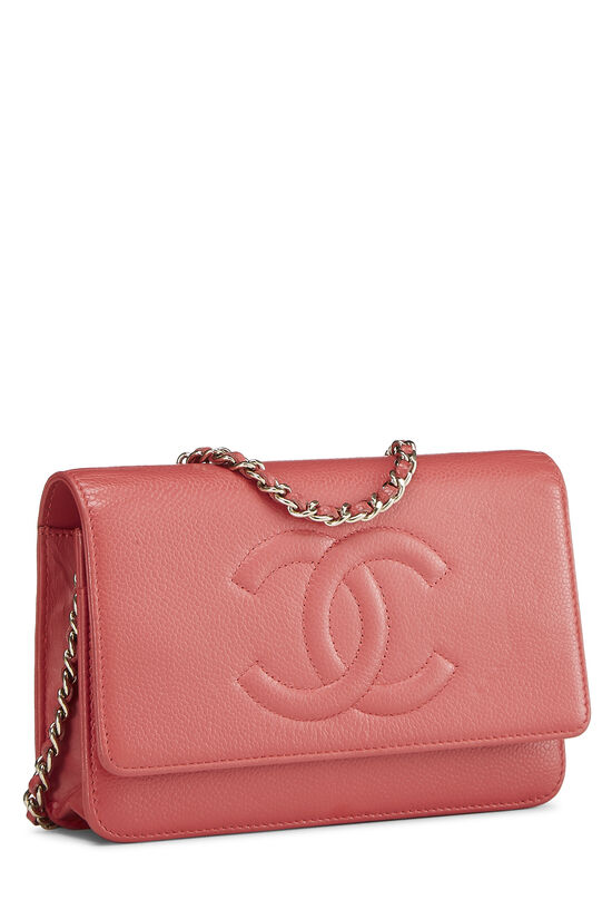Pink Caviar Timeless Wallet on Chain (WOC), , large image number 1