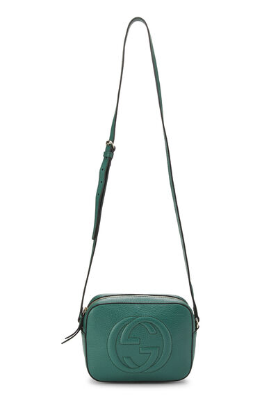 Green Grained Leather Soho Disco, , large