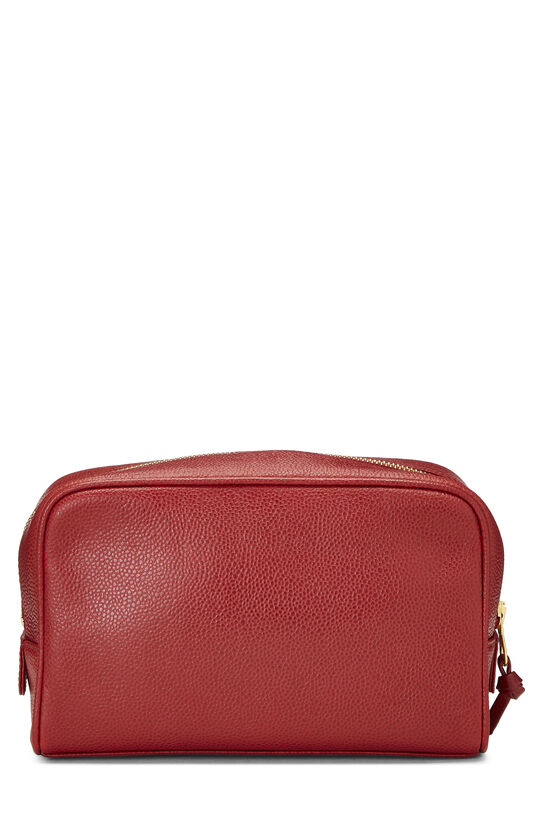 Red Caviar 'CC' Cosmetic Bag, , large image number 3