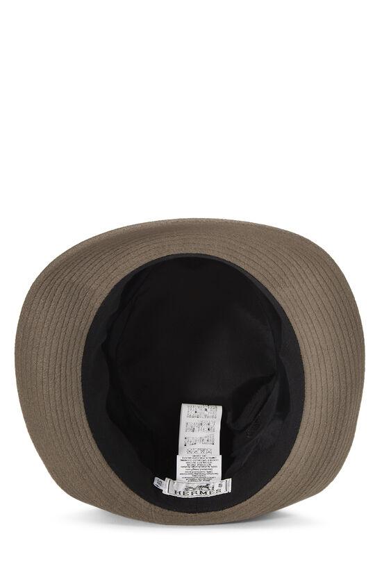 Grey Cashmere Fedora, , large image number 3