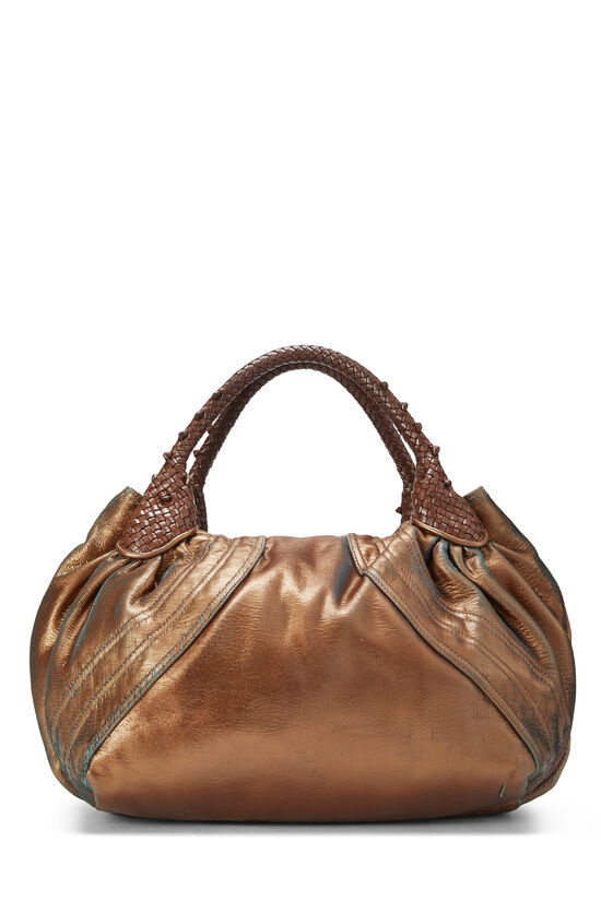 Metallic Copper Leather Spy, , large image number 3