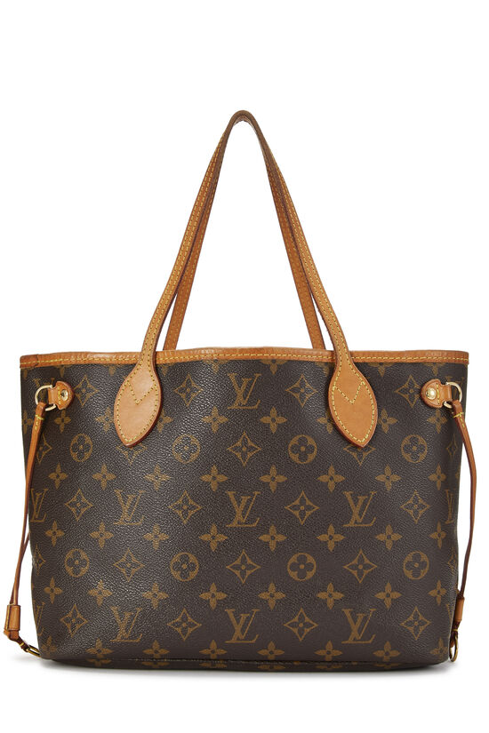 Pink Monogram Canvas Neverfull PM NM, , large image number 3