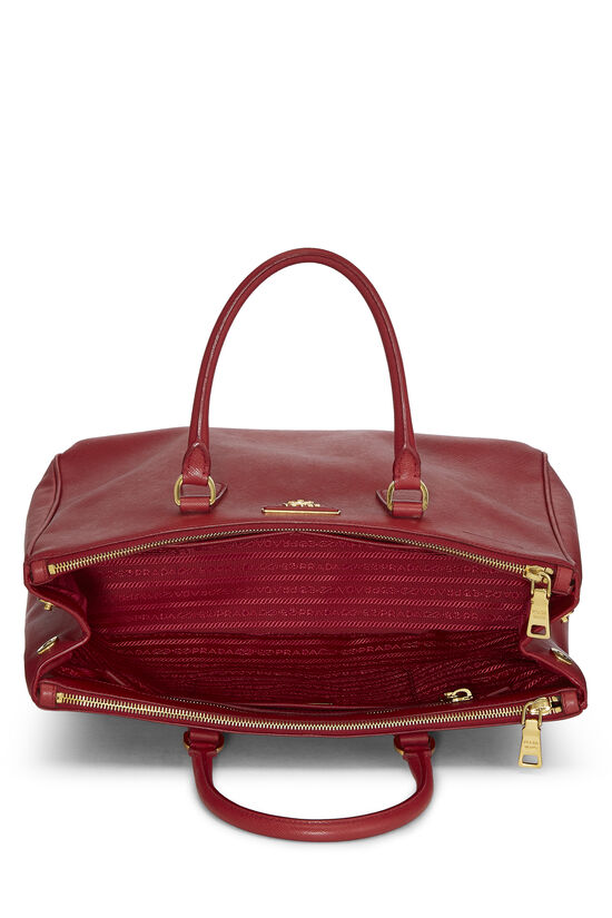 Red Saffiano Executive Tote Large, , large image number 5